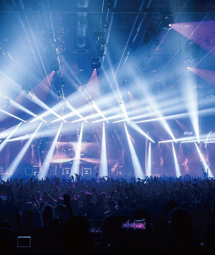 舞台灯光音箱